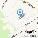 Стрижевская средняя школа на карте Кирова