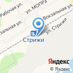 Стрижи на карте Кирова