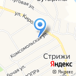 Кировский ОблПотребСоюз на карте Кирова