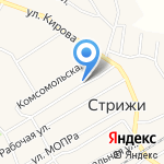 Администрация Стрижевского городского поселения на карте Кирова