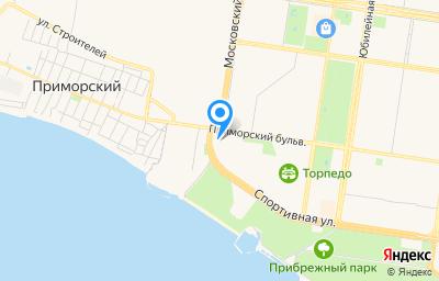 Местоположение на карте пункта техосмотра по адресу Самарская обл, г Тольятти, б-р Приморский, влд 55