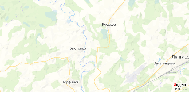 Булдаки на карте
