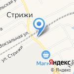 Глория на карте Кирова