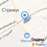Магазин одежды и обуви на карте Кирова