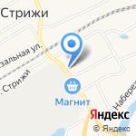 Зеленый домик на карте Кирова