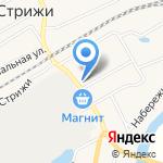 Синяя птица на карте Кирова
