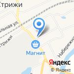 Русская тройка на карте Кирова