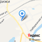 Магазин рыбы на карте Кирова