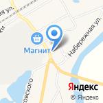 Лоция на карте Кирова