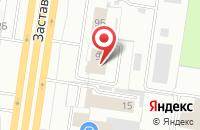 Схема проезда до компании Колодец в Тольятти
