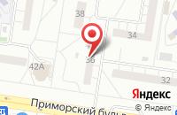 Схема проезда до компании Санрайз в Тольятти