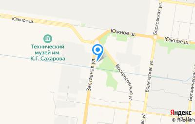 Местоположение на карте пункта техосмотра по адресу Самарская обл, г Тольятти, ул Заставная, влд 3