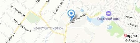 Таежная роса на карте Казани