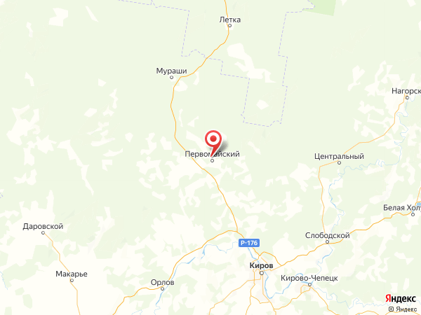 деревня Безводное на карте
