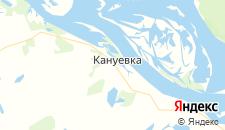 Отели города Кануевка на карте