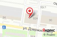 Схема проезда до компании Эверджаз в Тольятти