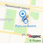 Oodji на карте Тольятти
