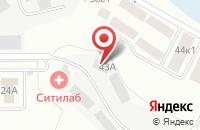 Схема проезда до компании БАЗ в Казани