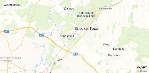 Новый Поселок на карте