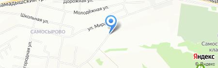 Поволжская Деревообрабатывающая Компания на карте Казани