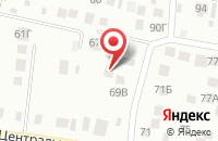 Схема проезда до компании Автоинру в Ситовке