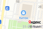 Схема проезда до компании Podium Shoes в Тольятти