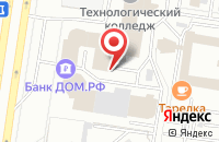 Схема проезда до компании Ника в Тольятти