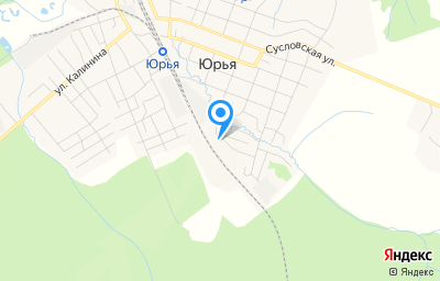 Местоположение на карте пункта техосмотра по адресу Кировская обл, пгт Юрья, ул Хвостанцева, д 2