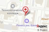 Схема проезда до компании Канонъ в Тольятти