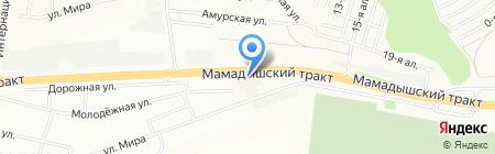 Огонек на карте Казани