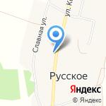 Русскосельская на карте Кирова