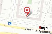 Схема проезда до компании Креатив в Тольятти