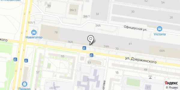 Буфет. Схема проезда в Тольятти