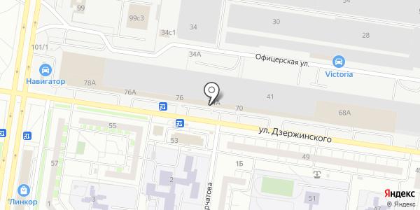 СПЕЦЭНЕРГОТРАНС. Схема проезда в Тольятти