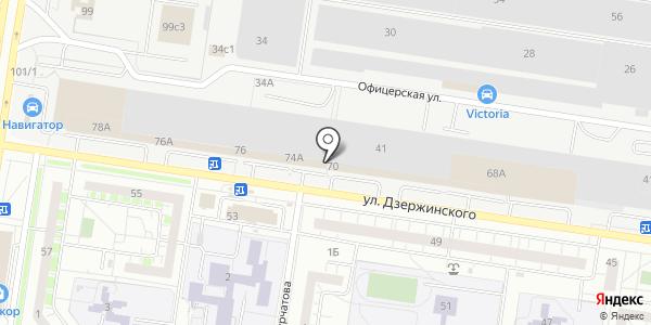 Тольяттинская Фабрика Камня. Схема проезда в Тольятти
