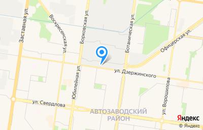 Местоположение на карте пункта техосмотра по адресу Самарская обл, г Тольятти, ул Офицерская, д 41