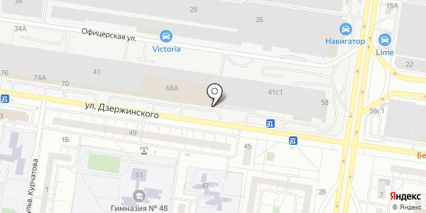 АНАТА. Схема проезда в Тольятти