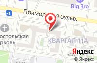 Схема проезда до компании Навигатор-Медиа в Тольятти