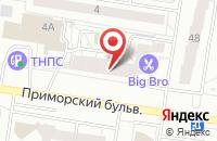 Схема проезда до компании Прт №349 в Тольятти