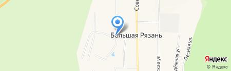 Дом культуры на карте Большой Рязани
