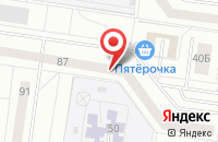 Схема проезда до компании Совпромснаб в Тольятти