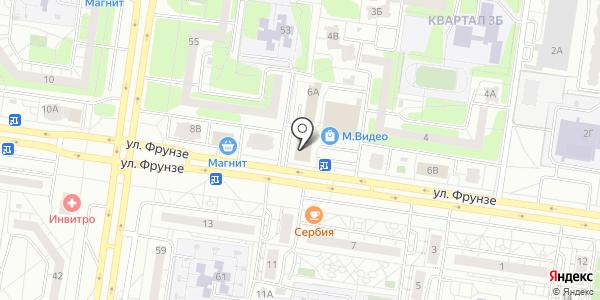 Адвокатский кабинет №793. Схема проезда в Тольятти