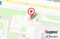 Схема проезда до компании Комплекс в Тольятти