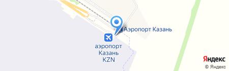 Татнефтьавиасервис на карте Казани
