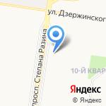 Совкомбанк на карте Тольятти