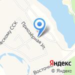 Лазурный на карте Кирова
