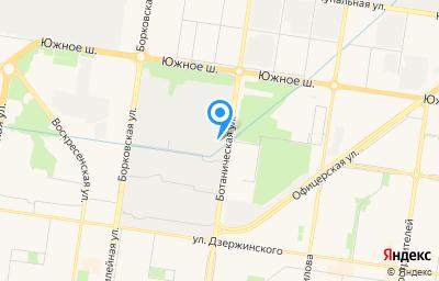 Местоположение на карте пункта техосмотра по адресу Самарская обл, г Тольятти, ул Ботаническая, влд 18