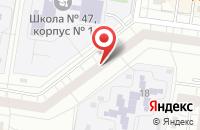 Схема проезда до компании Твист в Тольятти