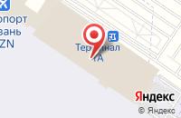 Схема проезда до компании EuropeCar-Казань в Столбище