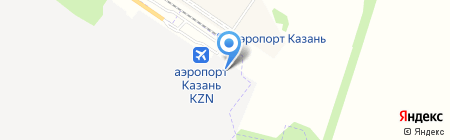 Авис на карте Казани